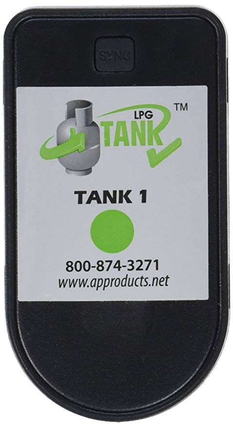 Propane gas tank level indicator