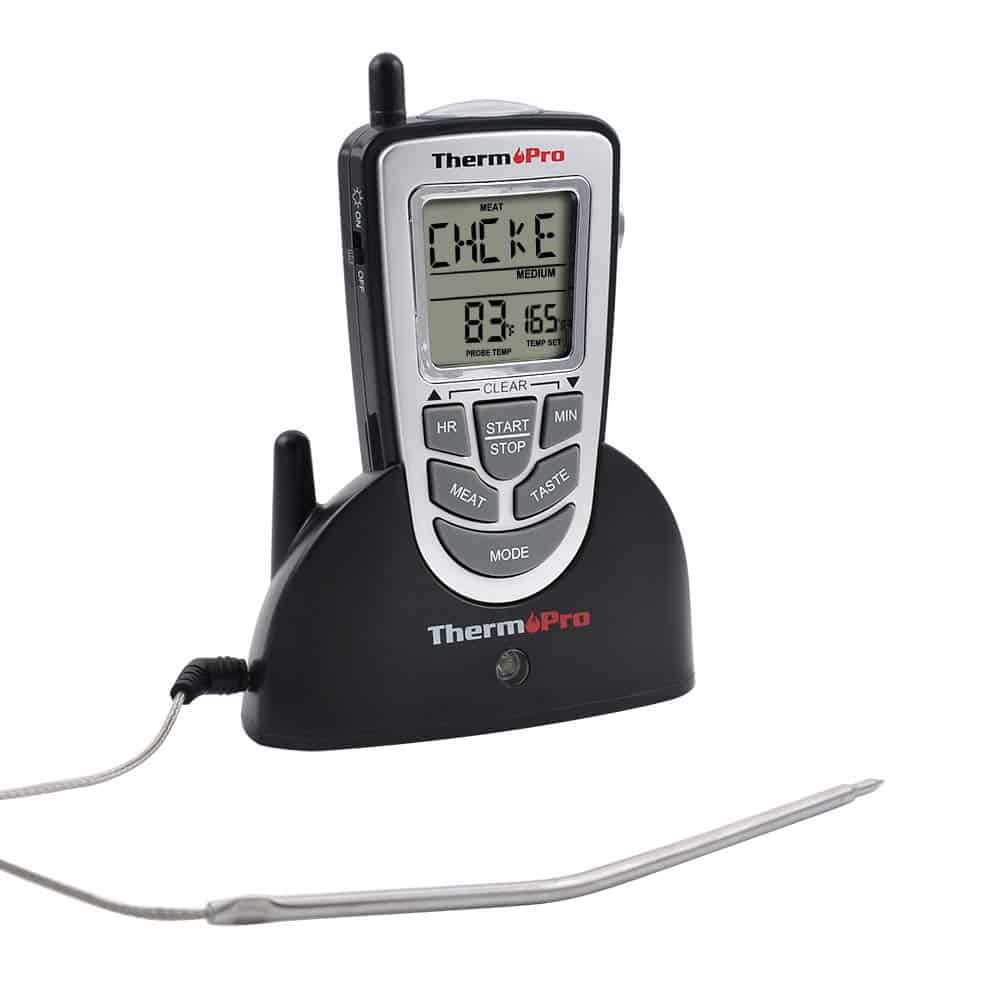 Therm pro wireless meat thermometer