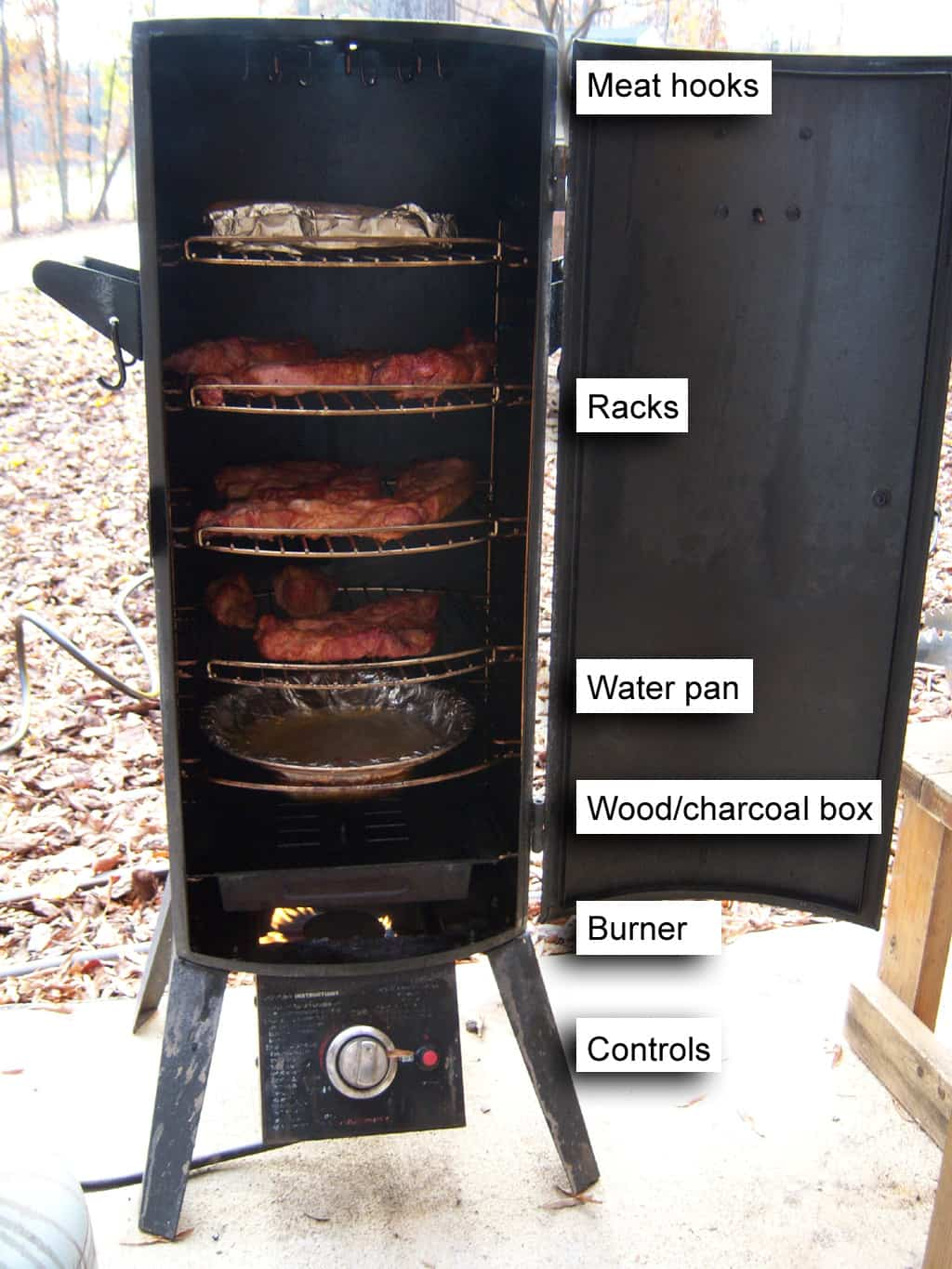 vertical smoker