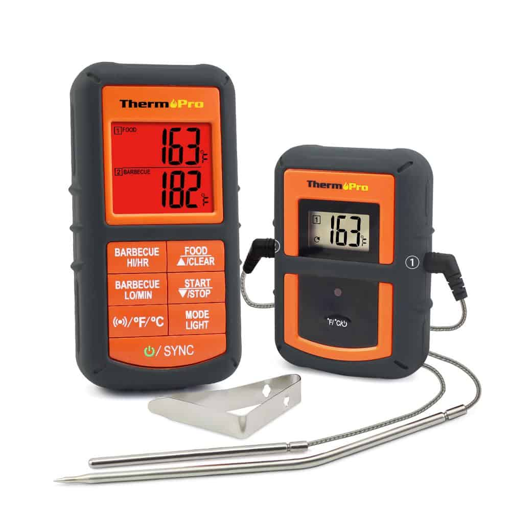 Thermopro wireless remote digital thermometer as a bbq smoker gift