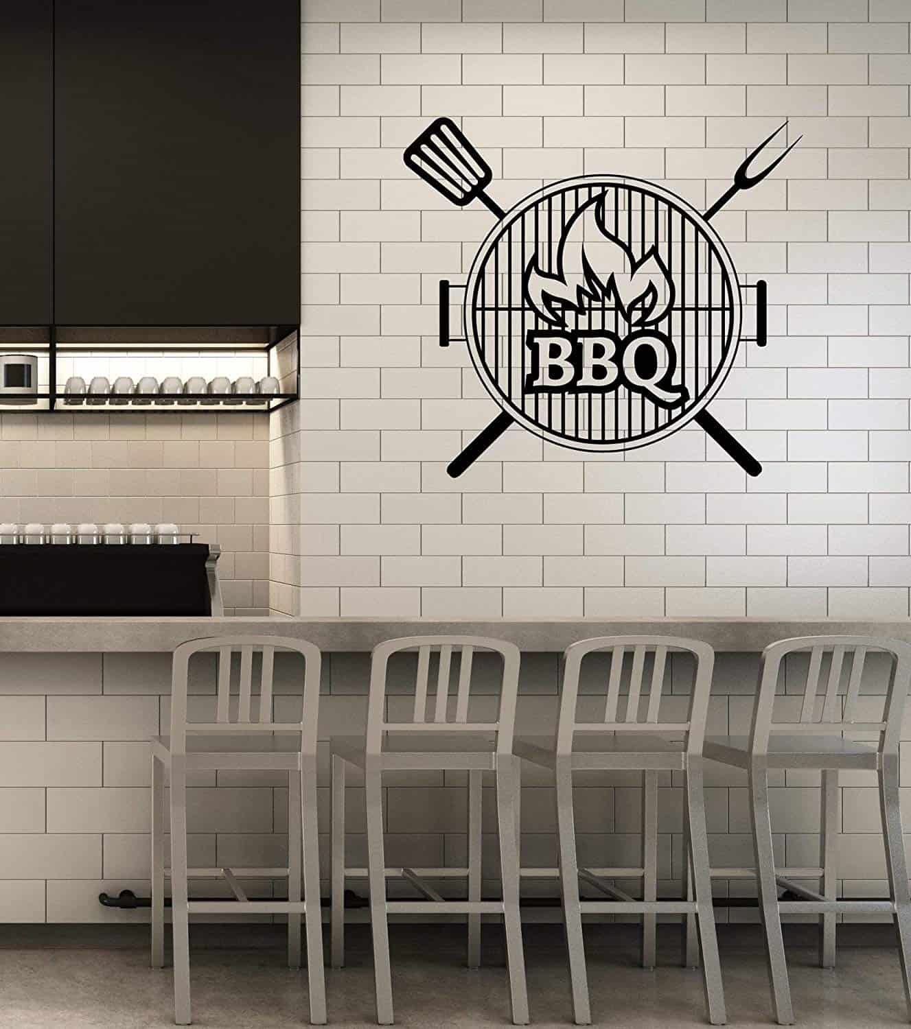 BBQ Smokehouse wall decal