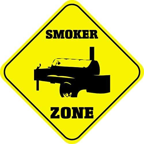 Smoker zone decal