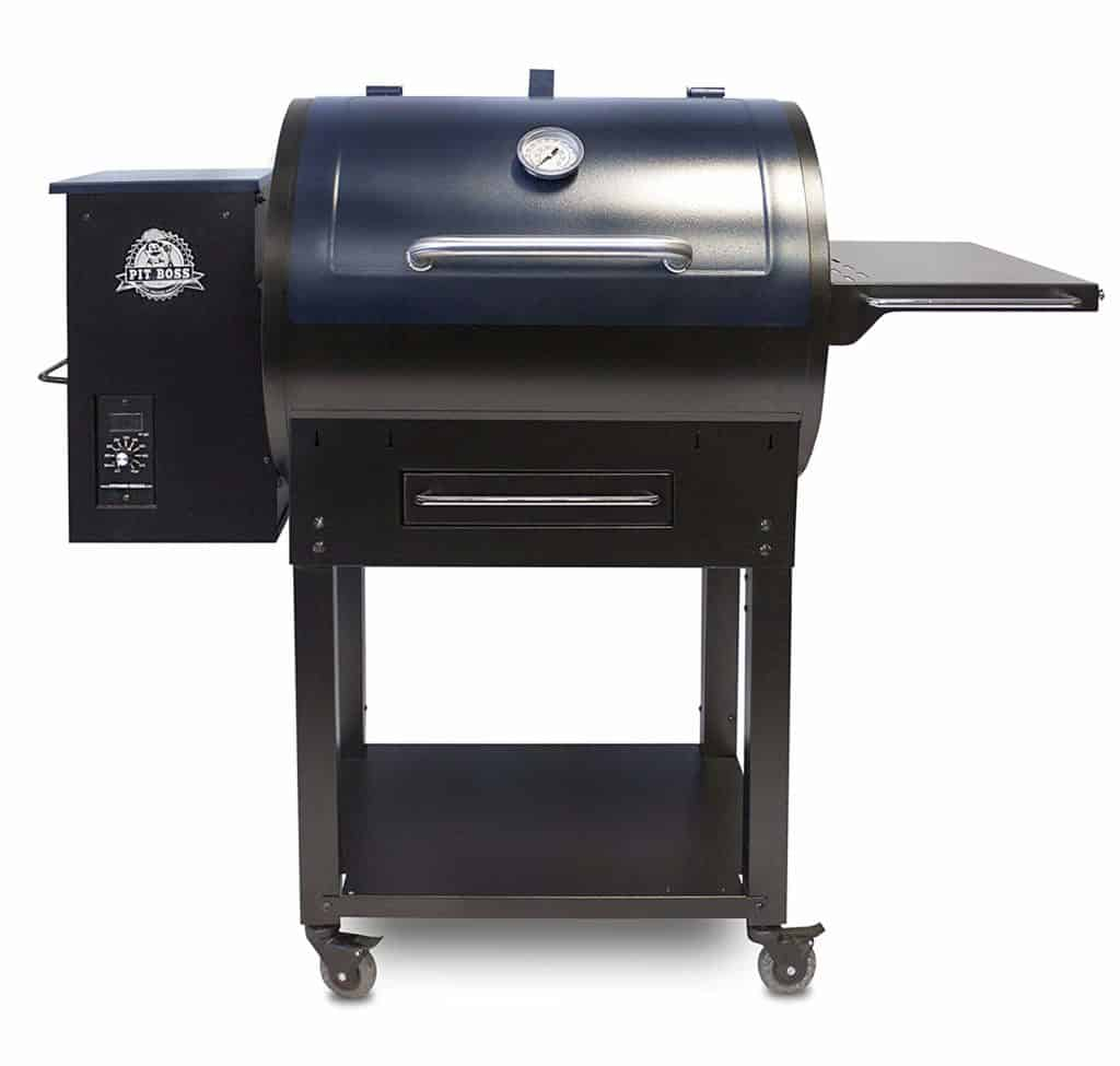 Pit Boss 72700S Pellet Grill with Upgraded Cart