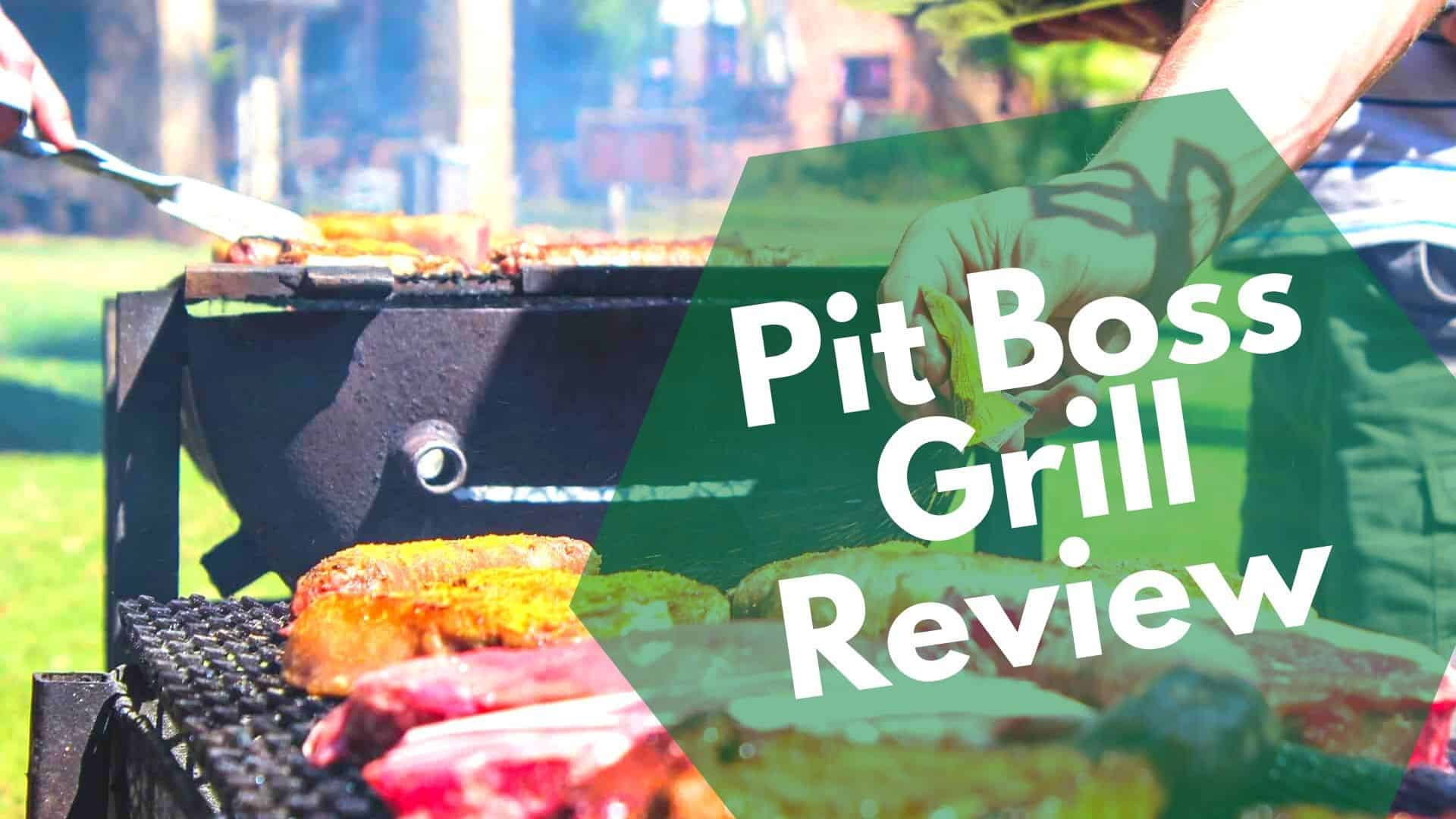 Pit Boss Grills Review | 5 of their top wood pellet grill models