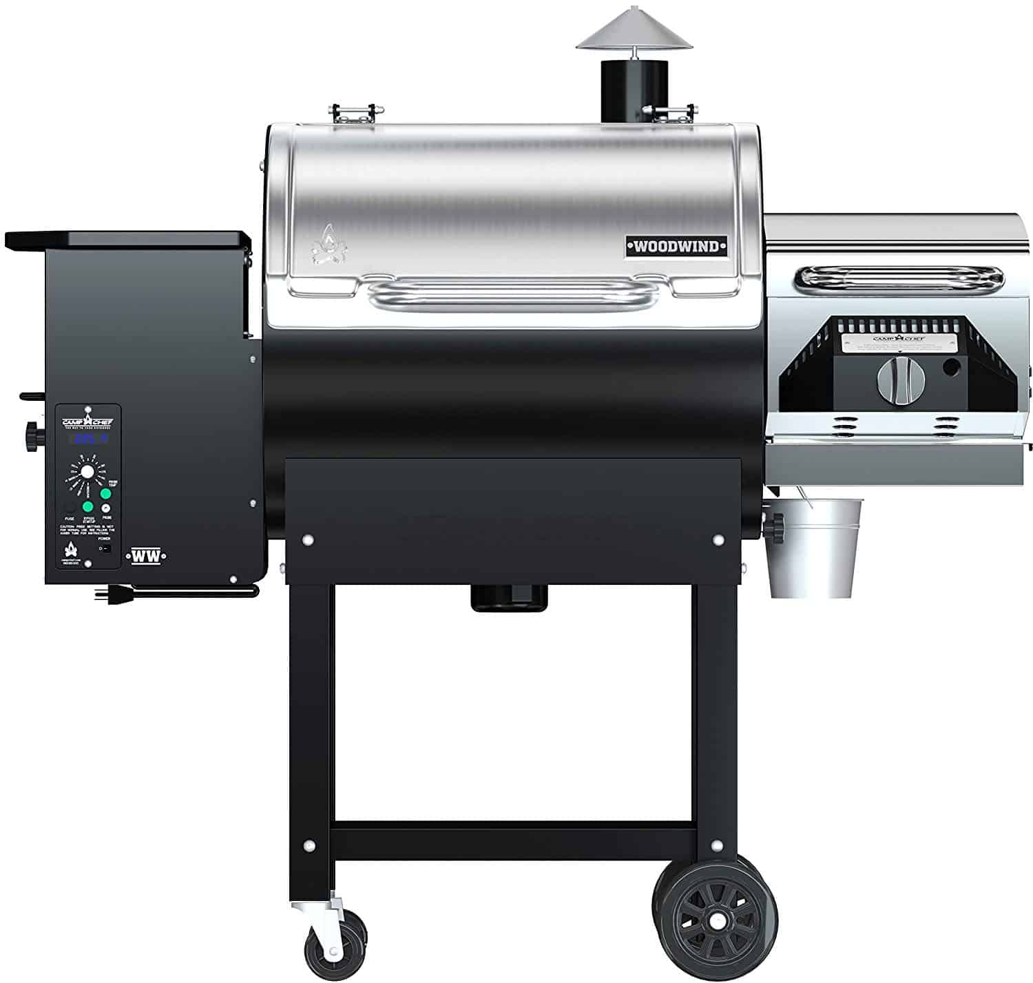 Best commercial wood pellet smoker Camp Chef Woodwind Pellet Grill with Sear Box