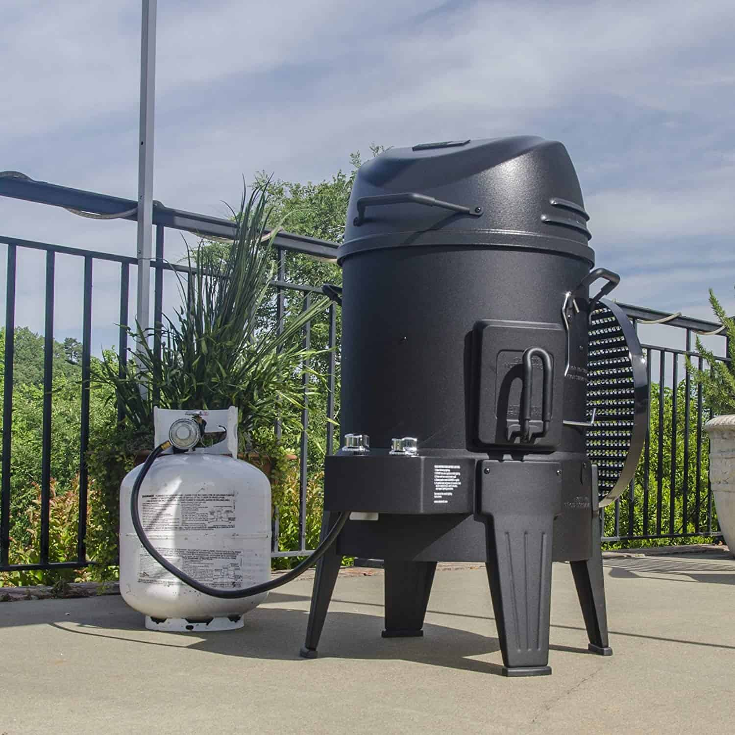 Char broil big easy infrared smoker
