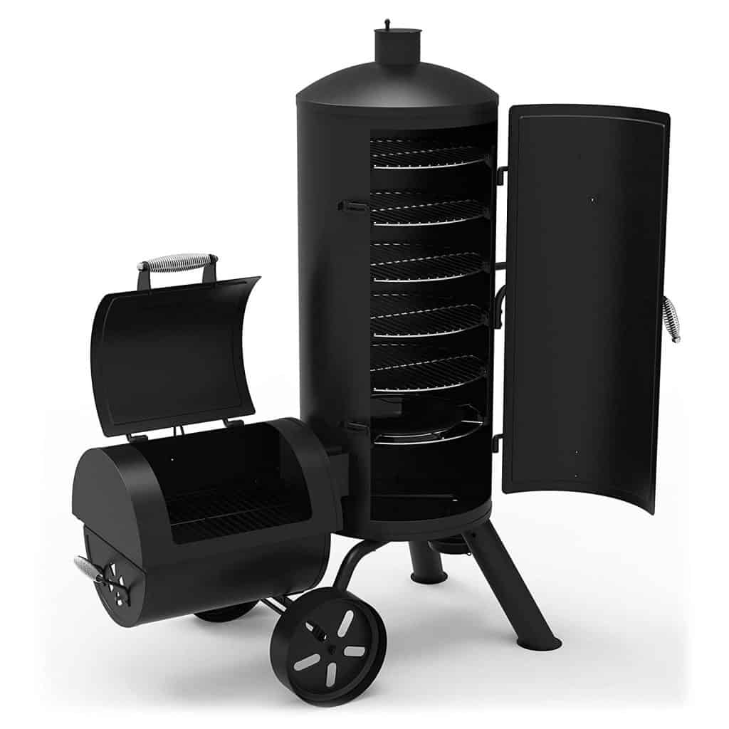 Dyna-glow vertical offset smoker
