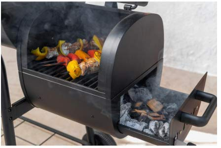 Nexgrill barrel smoker for meat