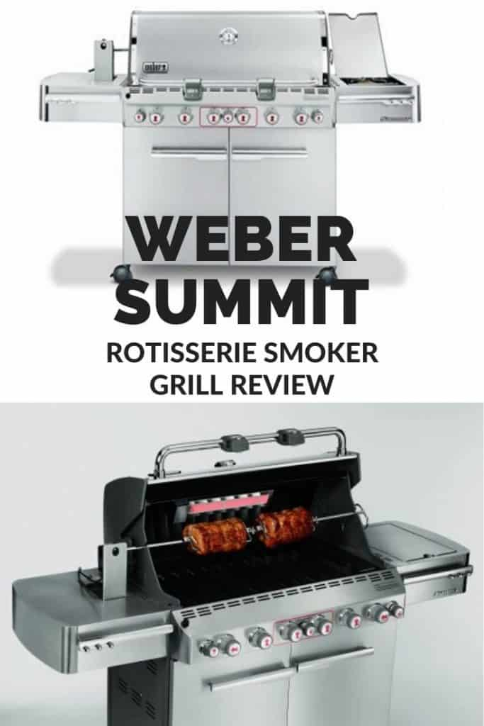 Weber summit rotisserie smoker grill review