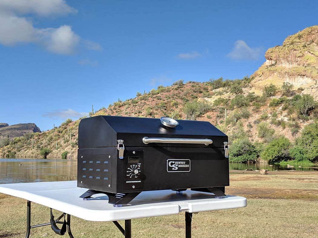 Country smokers portable grill