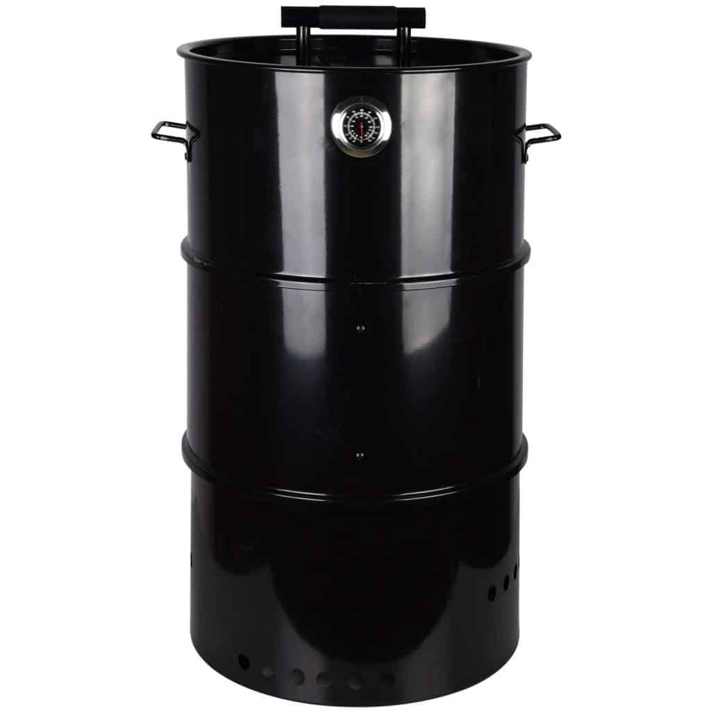 Esschert black barrel smoker