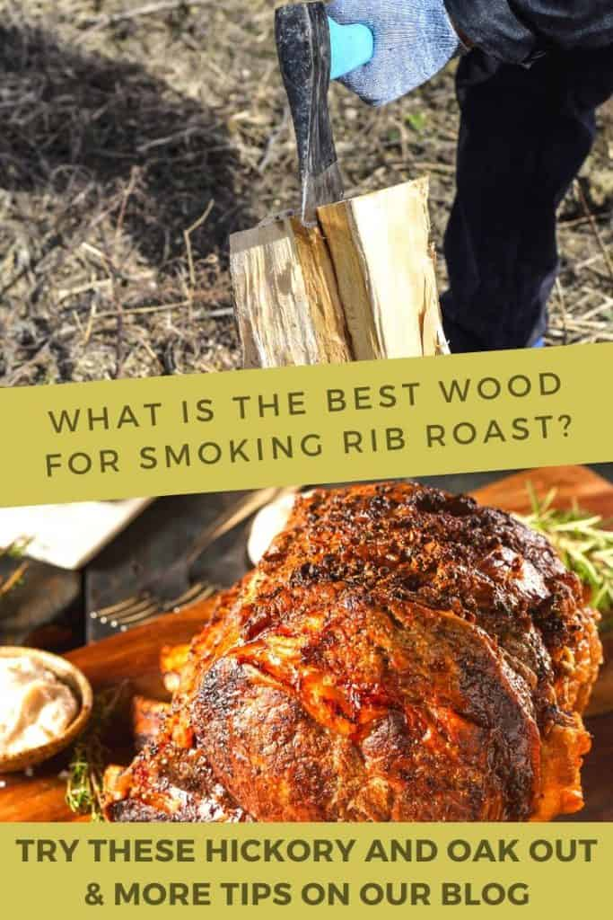 What is the best wood for smoking rib roast