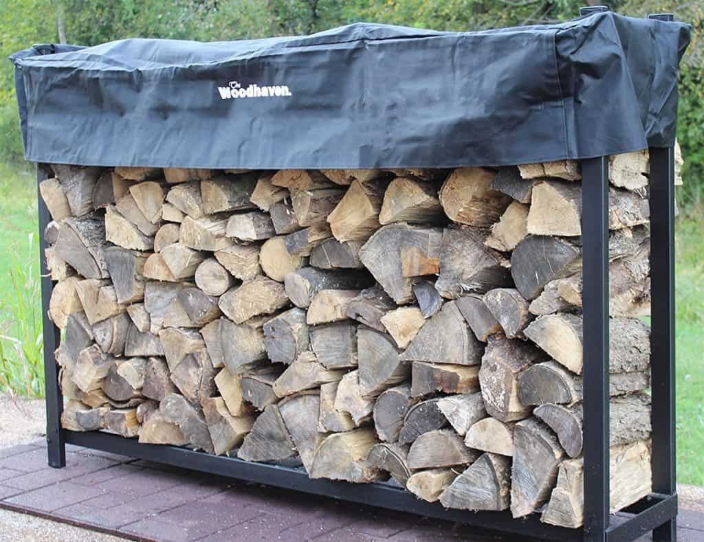 Woodhaven Firewood rack for seasoning wood