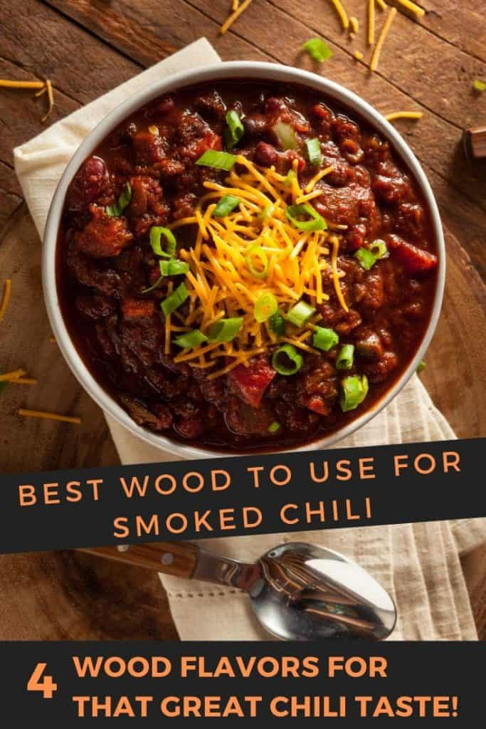 best wood for smoked chili