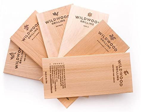 Best flavor variety: Wildwood grilling 6 grilling plank variety pack