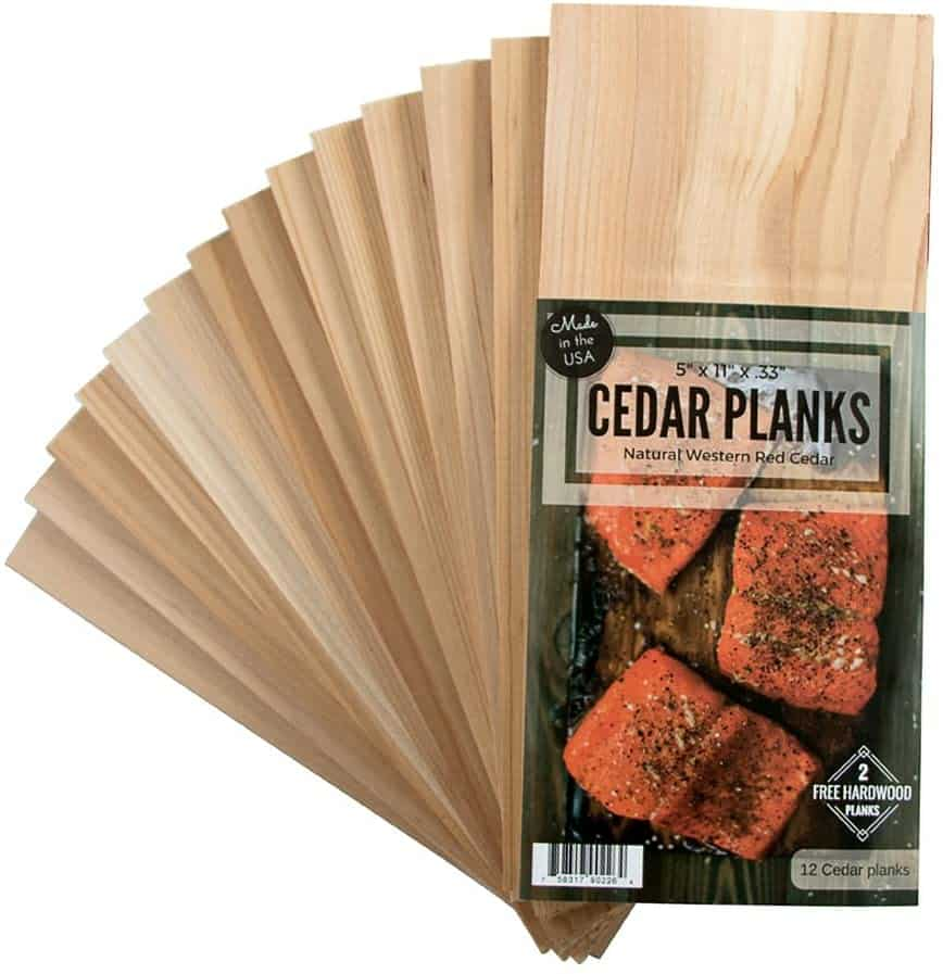 Bestseller Wood Fire Grilling Co cedar grilling planks