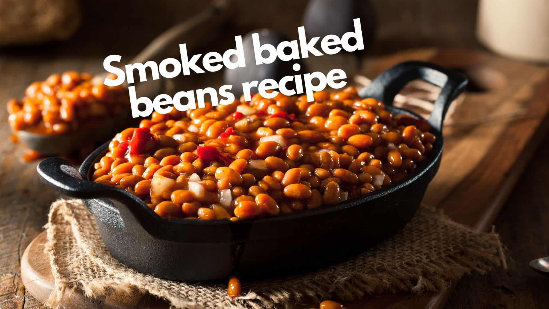 Best wood for smoking baked beans