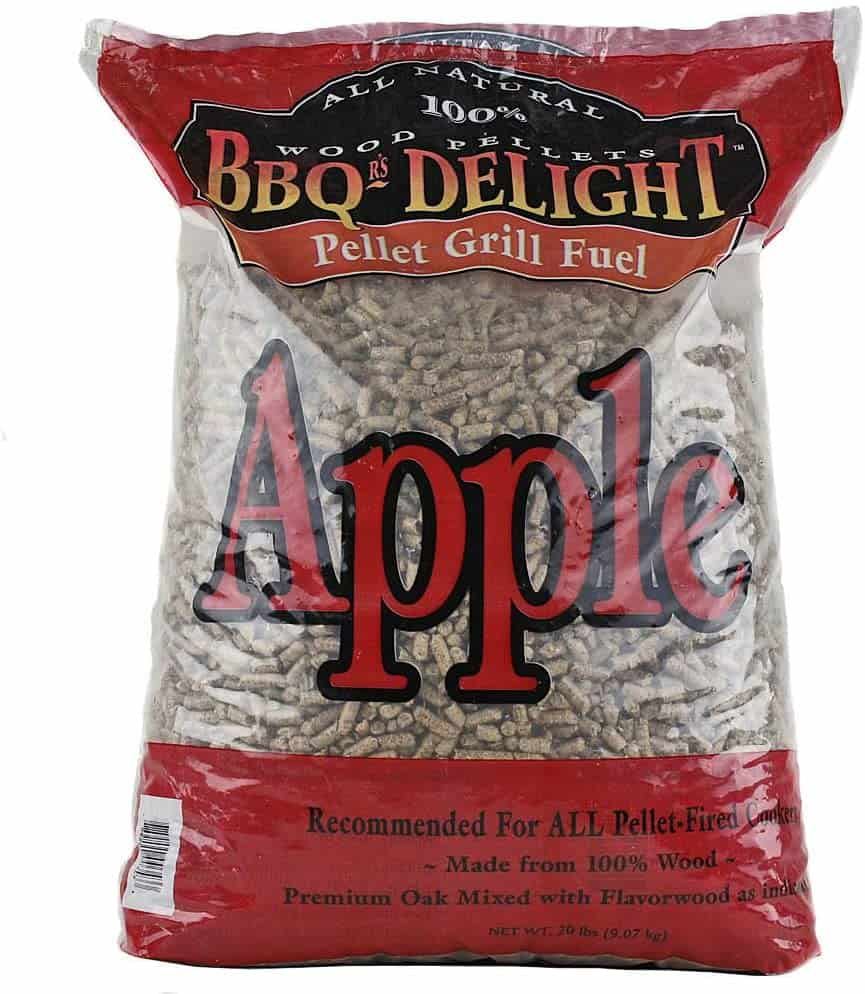 BBQr's Delight Apple Flavor Smoking BBQ Pellets