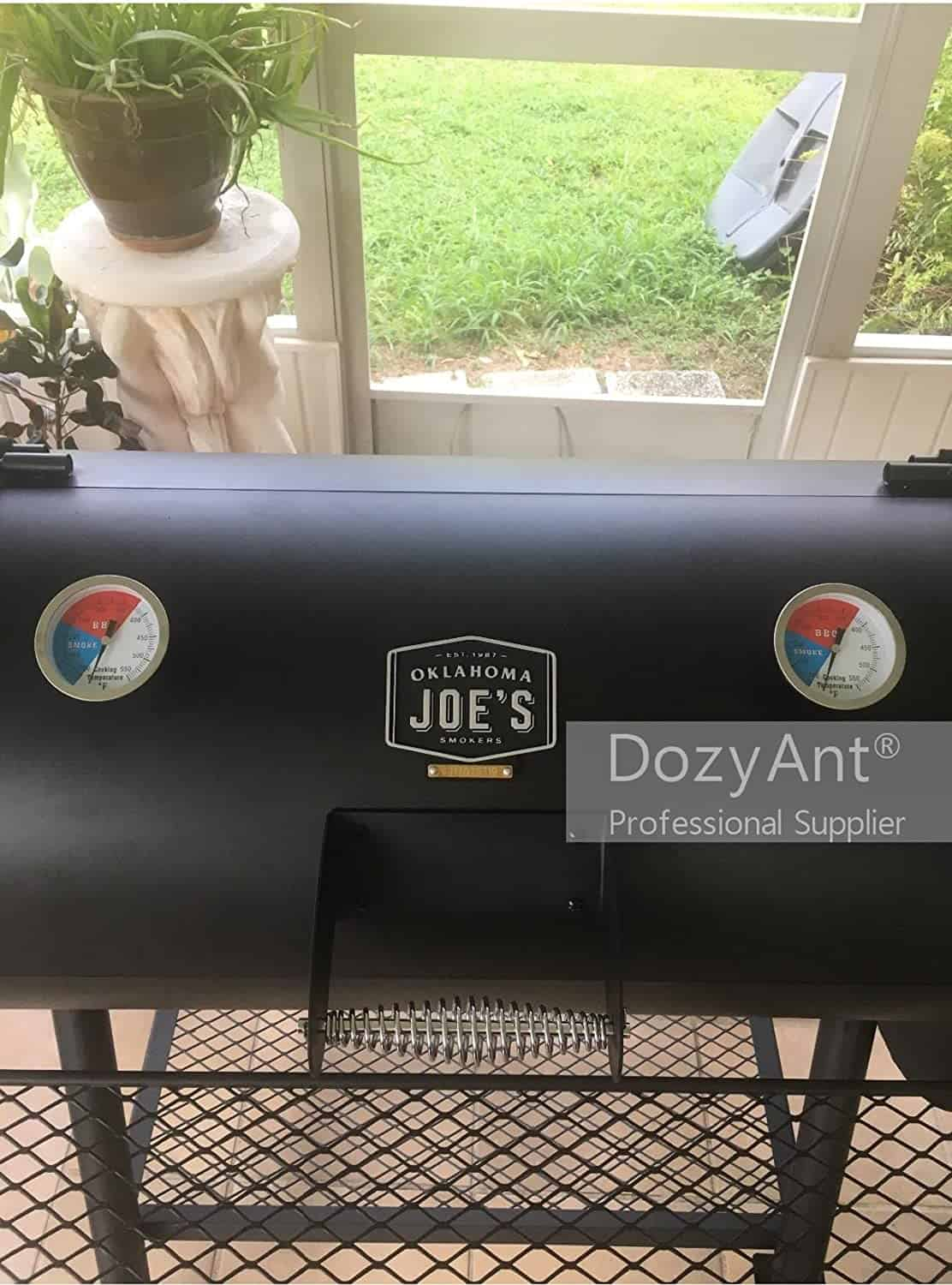 Best Analog Barbecue Smoker Thermometer: Dozyant