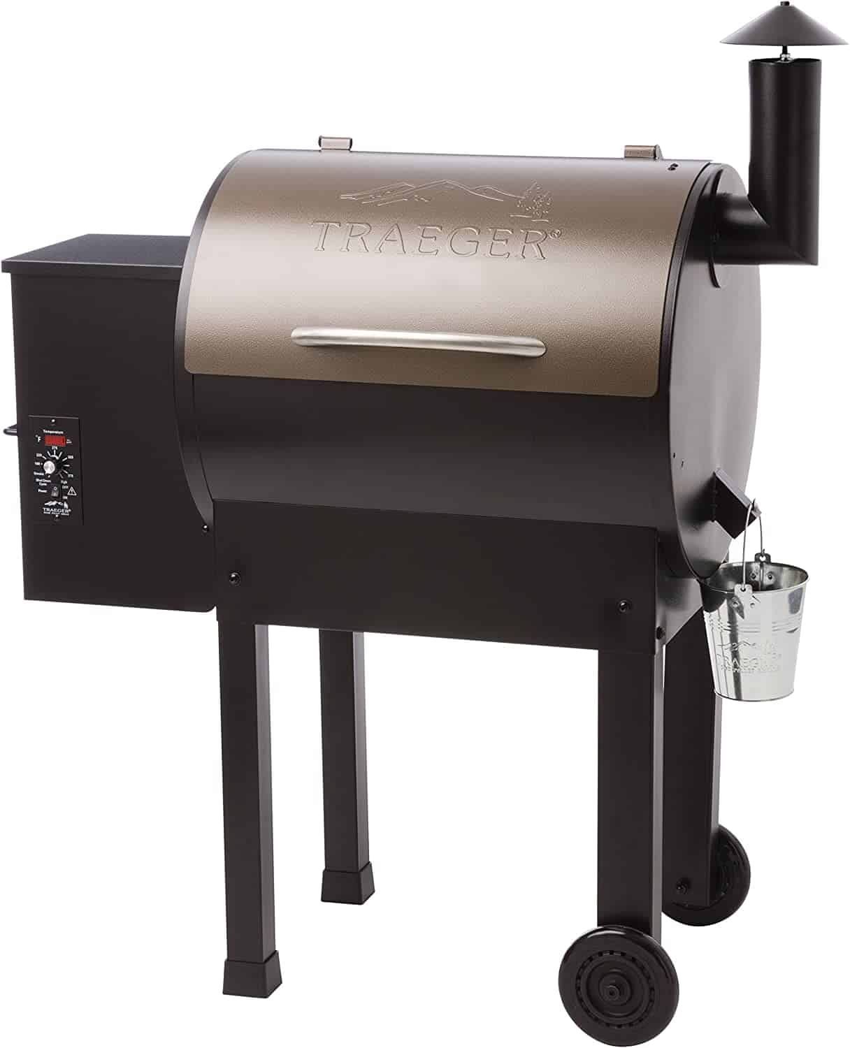 Best for smoking: Traeger Grills Lil Tex Elite Wood Pellet Grill and Smoker