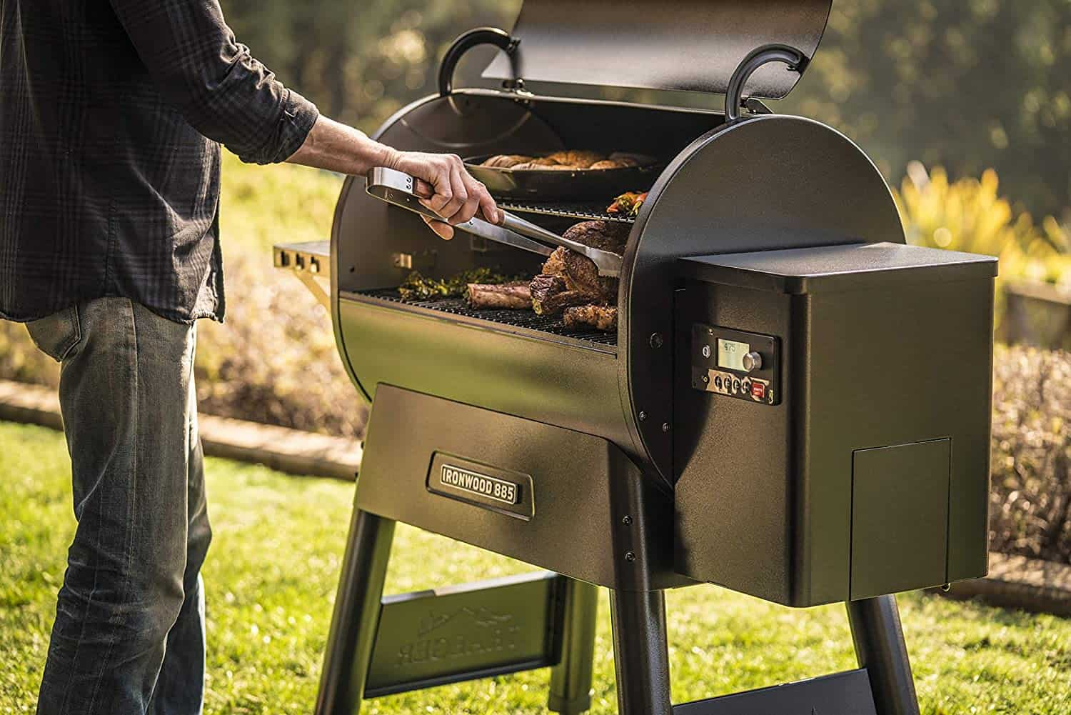 Most Innovative Grill: Traeger Ironwood 885