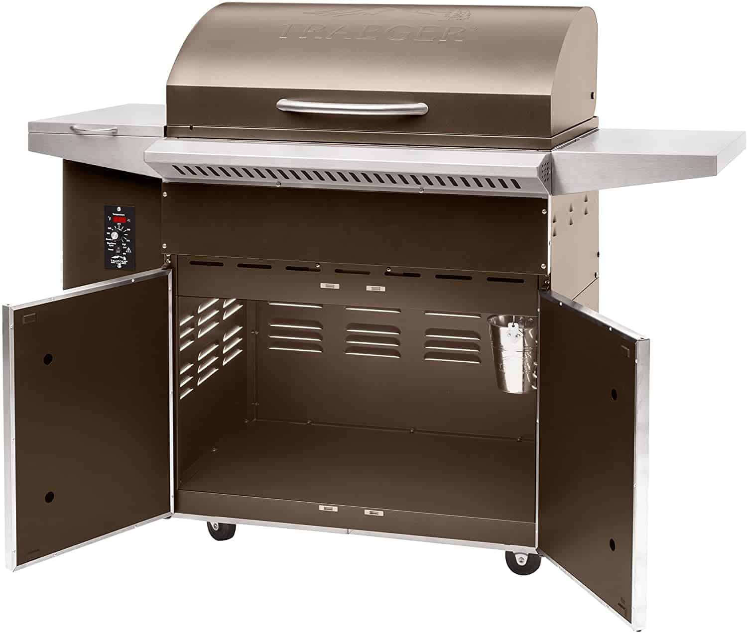 Most shelf space: Traeger Grills Select Elite Wood Pellet Grill