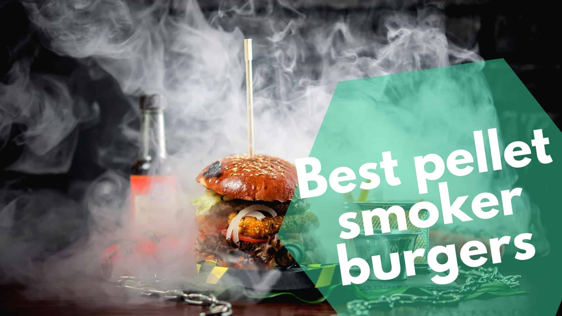 Pellet Smoker Burgers: smoked meat, cumin, paprika & onions