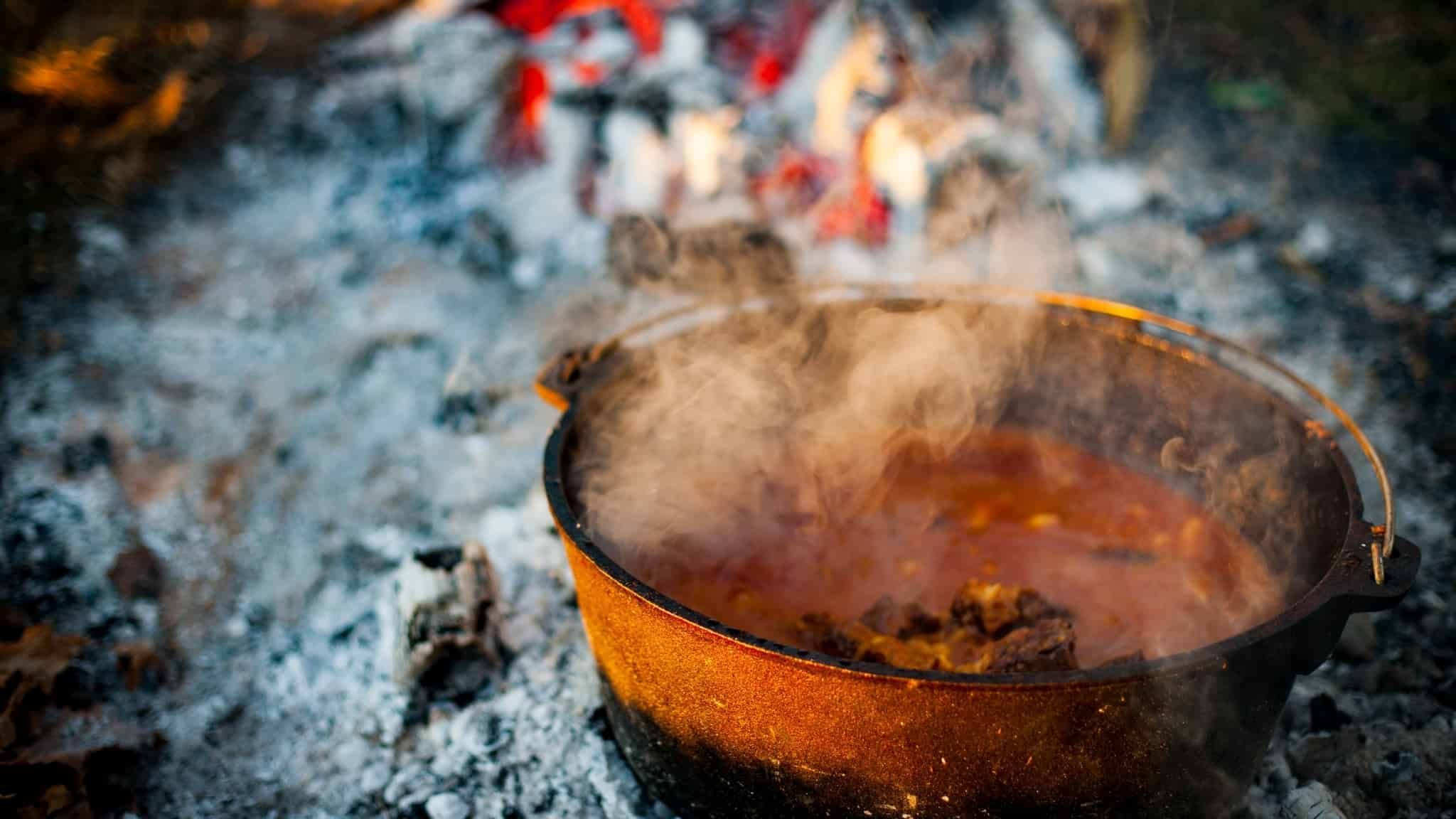 Camp Dutch Oven Beef Stew Recipe | The Perfect Campfire Comfort Food