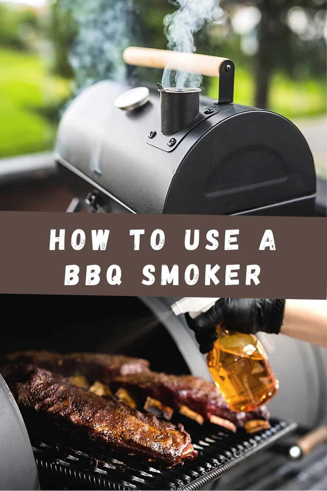 This is how you use your bbq smoker