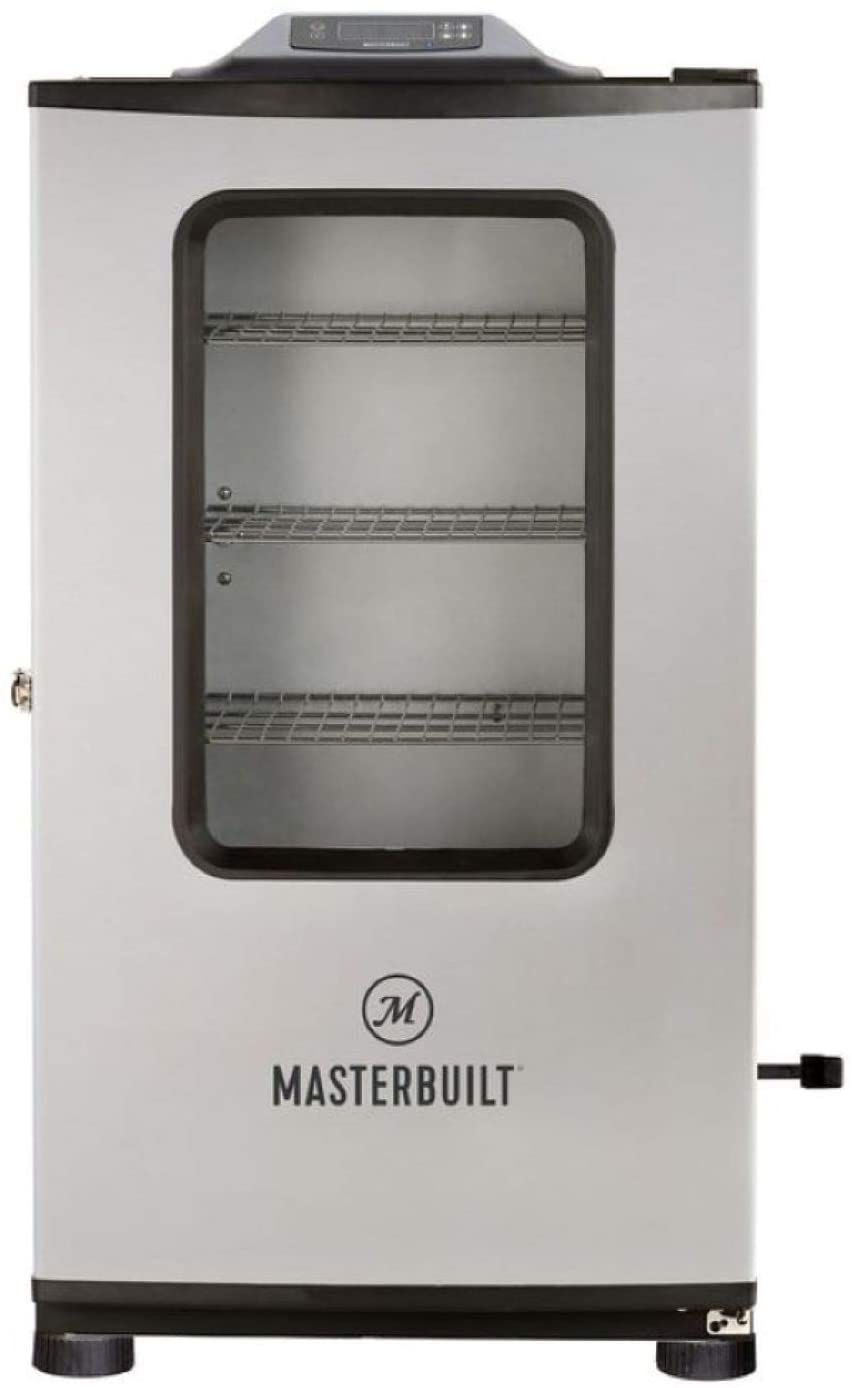 Best electric smoker with Bluetooth and rotisserie- Masterbuilt MB20074719 Bluetooth Digital