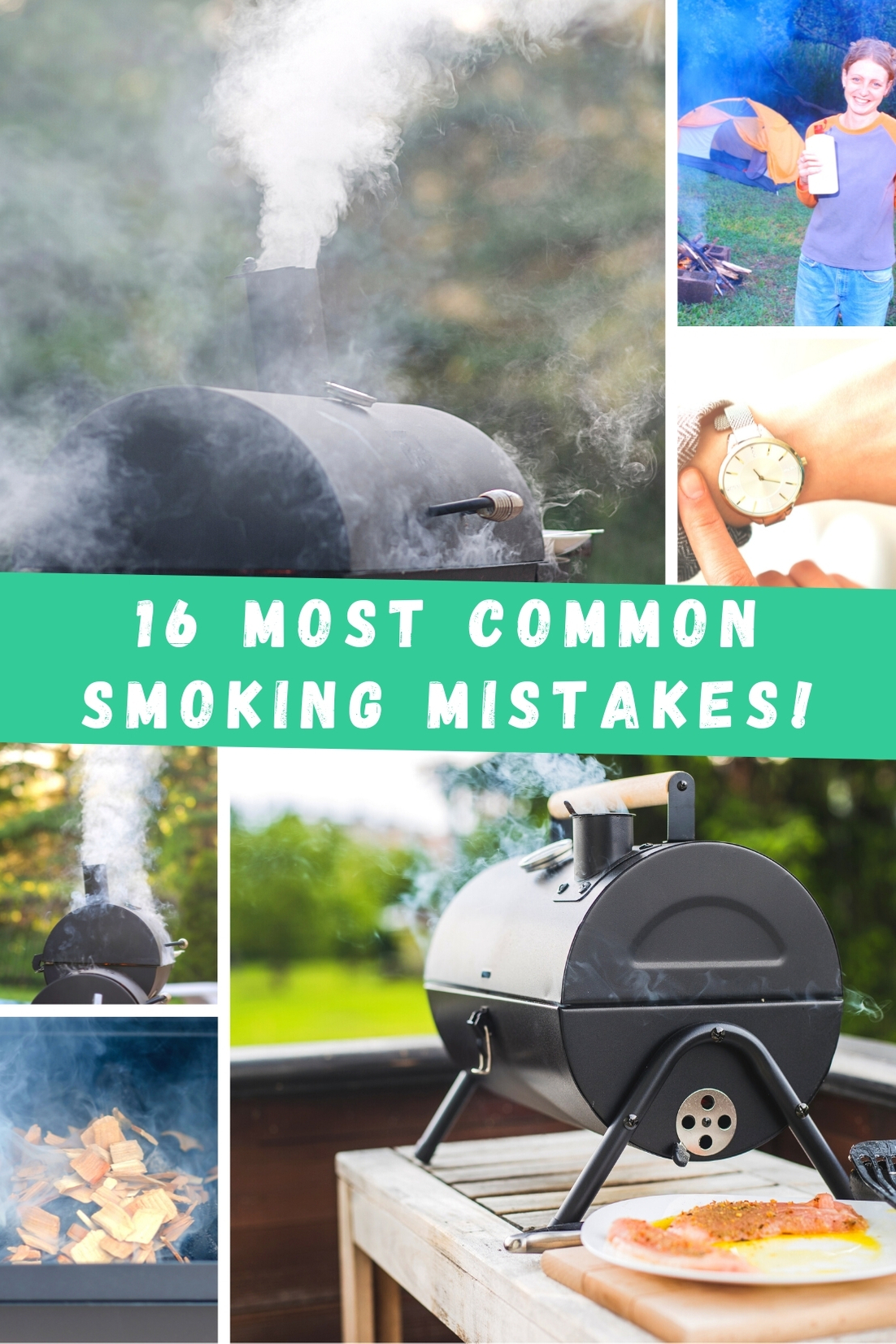 16 most commons bbq smoking mistakes
