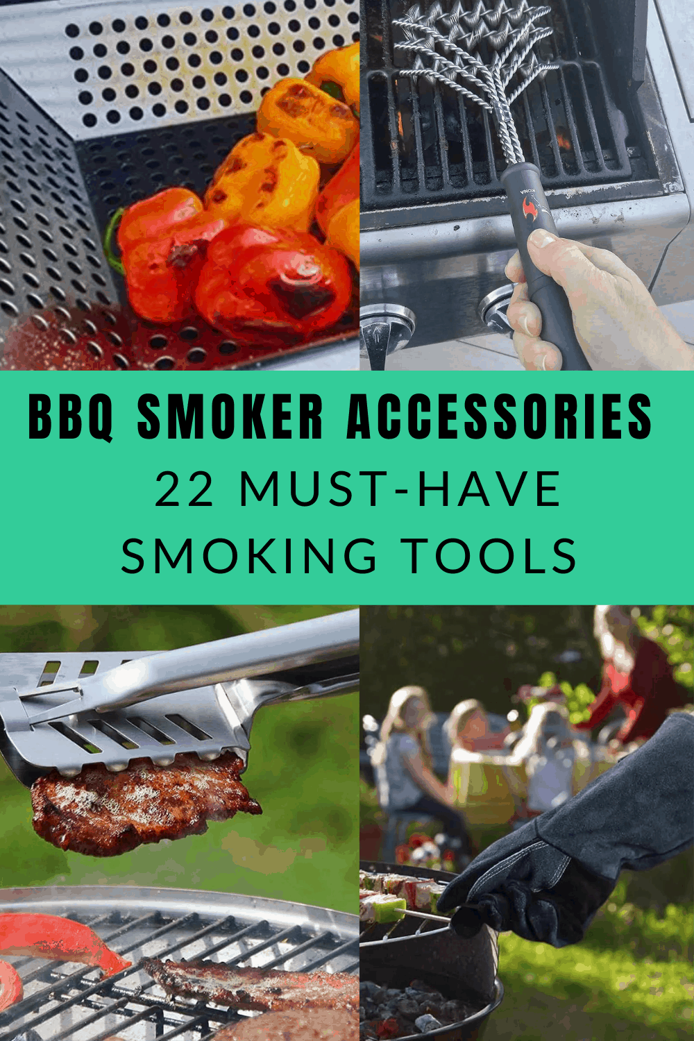 Best BBQ smoker accessories- 22 must-have smoking tools featured pinned