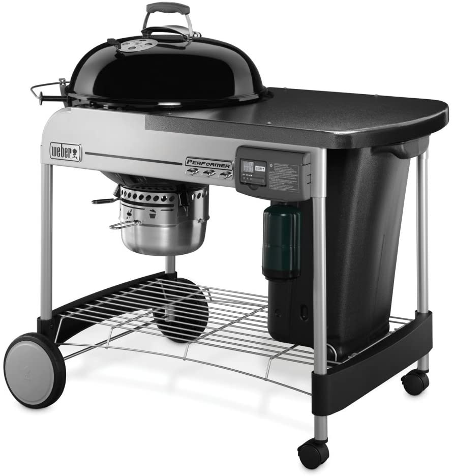 Best accessories and functionality for the price: Weber Performer Deluxe