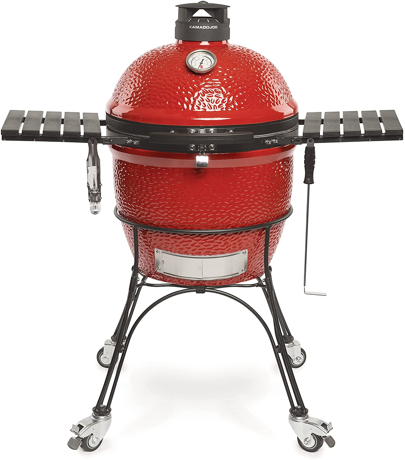 Best charcoal grill for smoking AND grilling- Kamado Joe Classic II