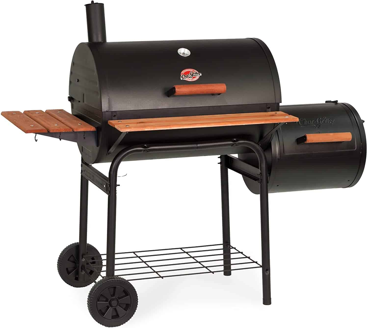 Best charcoal smoker for ribs- Char-Griller E1224 Smokin Pro