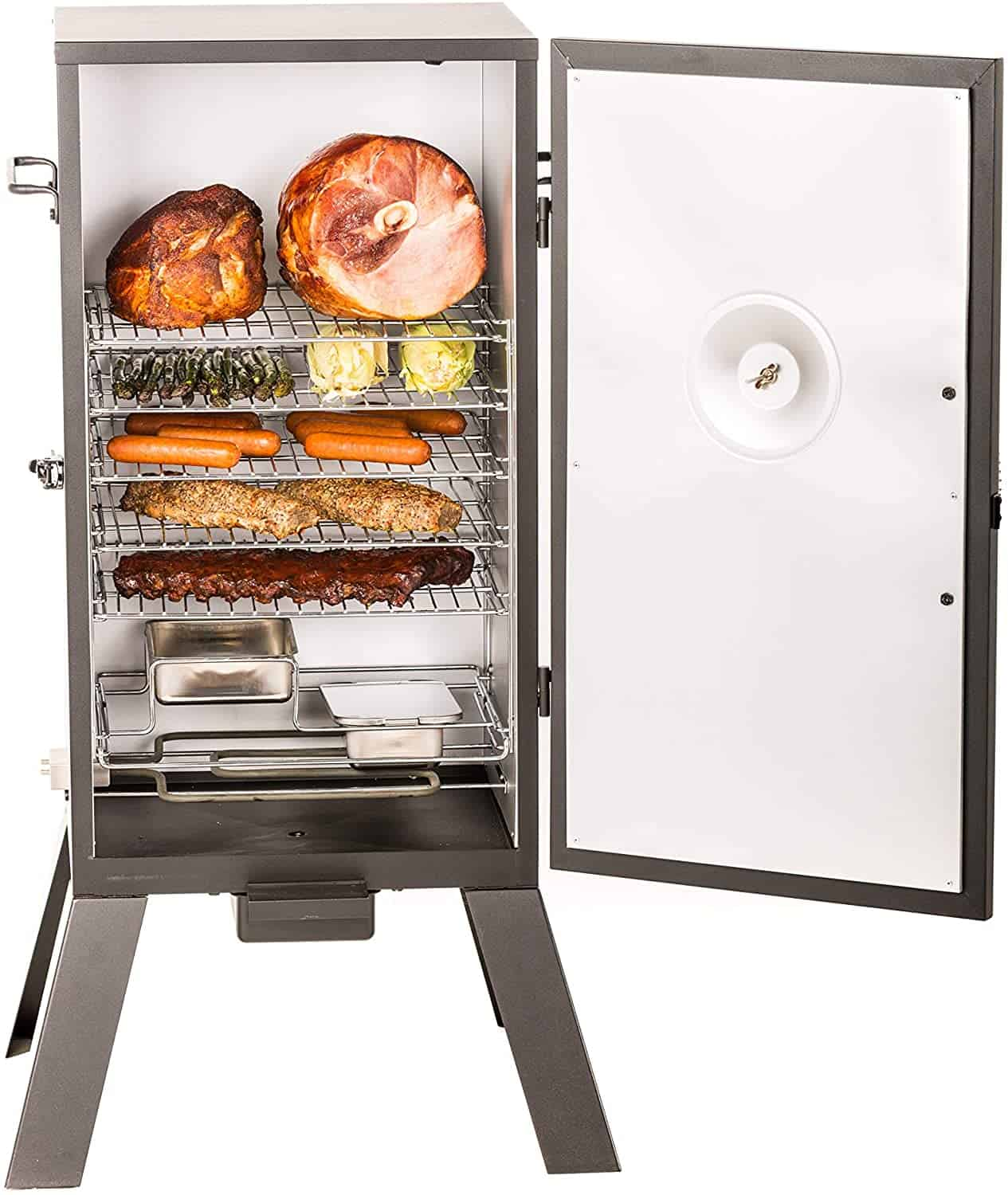 Best electric smoker for ribs (for beginners)- Masterbuilt MB20070210