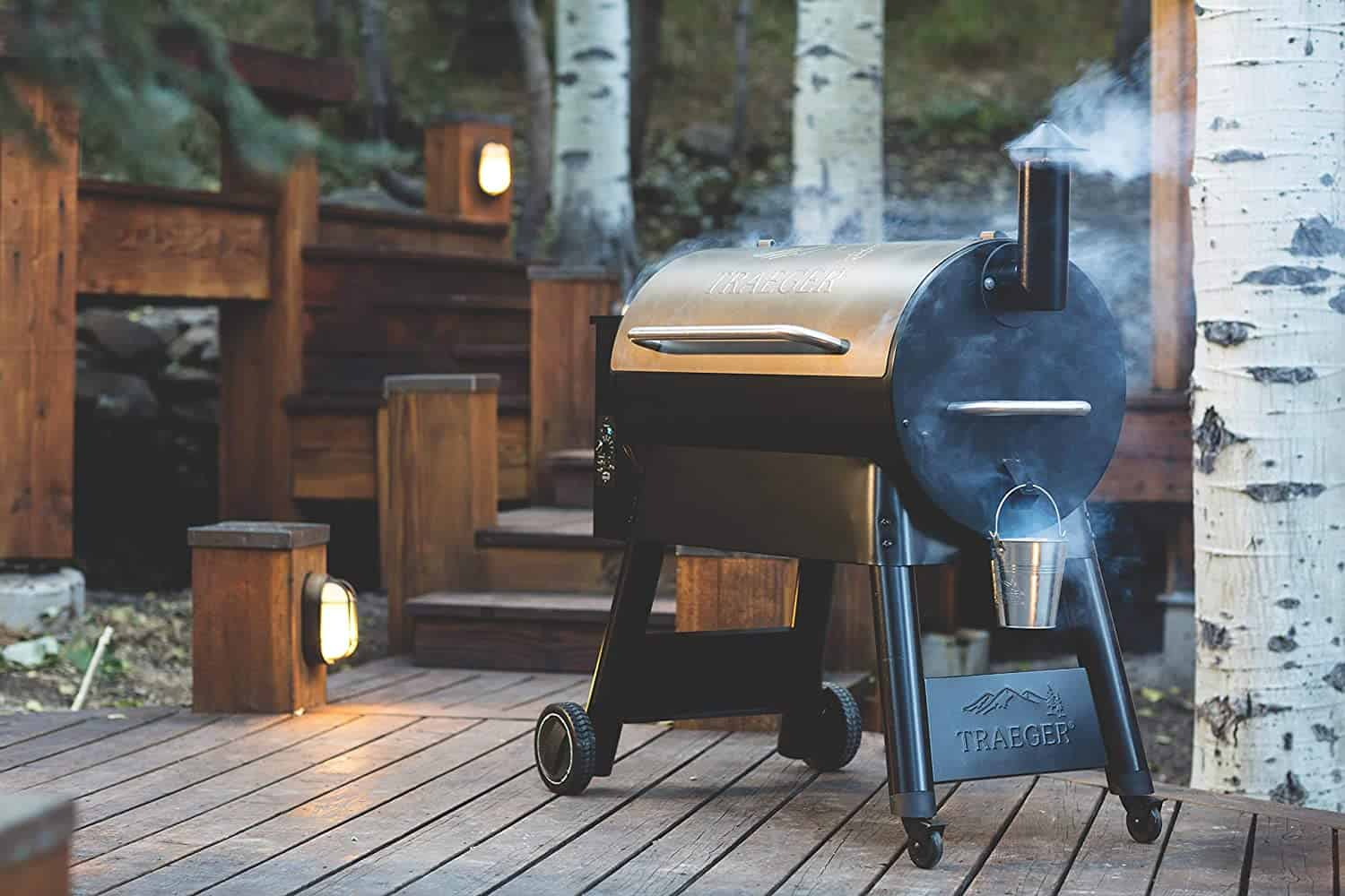 Best large cooking surface: Traeger Pro Series 34
