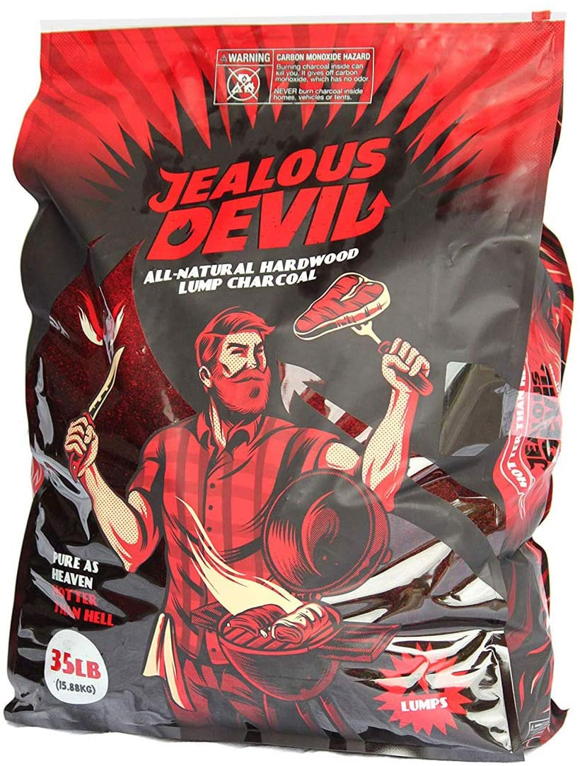 Best lump charcoal overall Jealous Devil All Natural