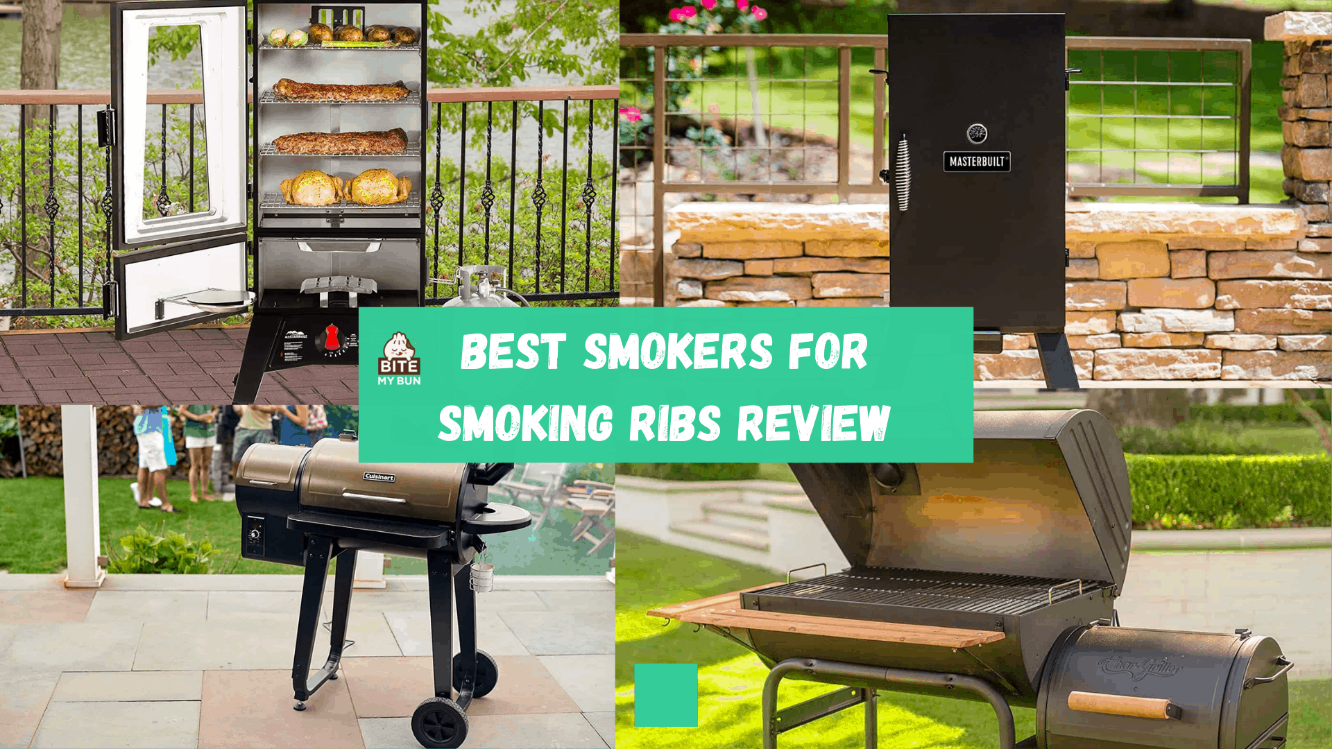 Best smoker for ribs | Full buyers guide for slow 'n low smoking
