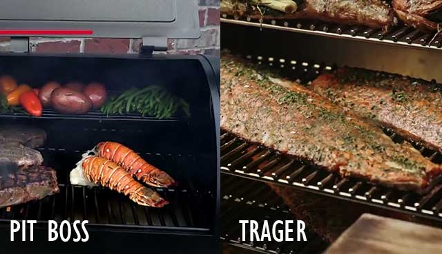 pit-boss-traeger-cooking-area