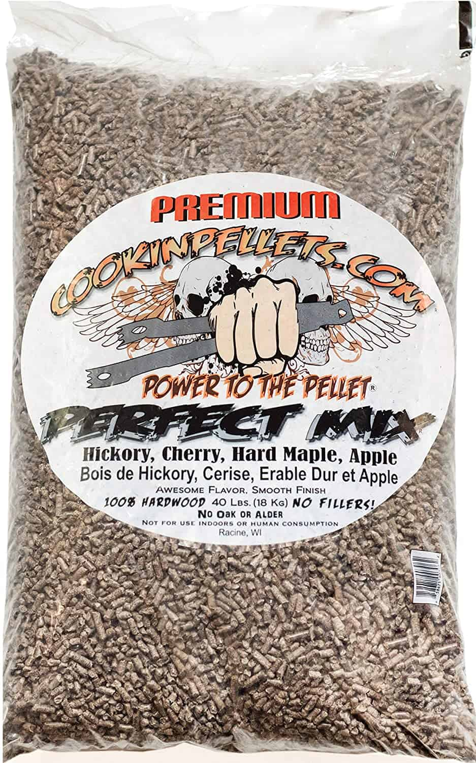 Best all-around wood pellets mix- CookinPellets Perfect Mix