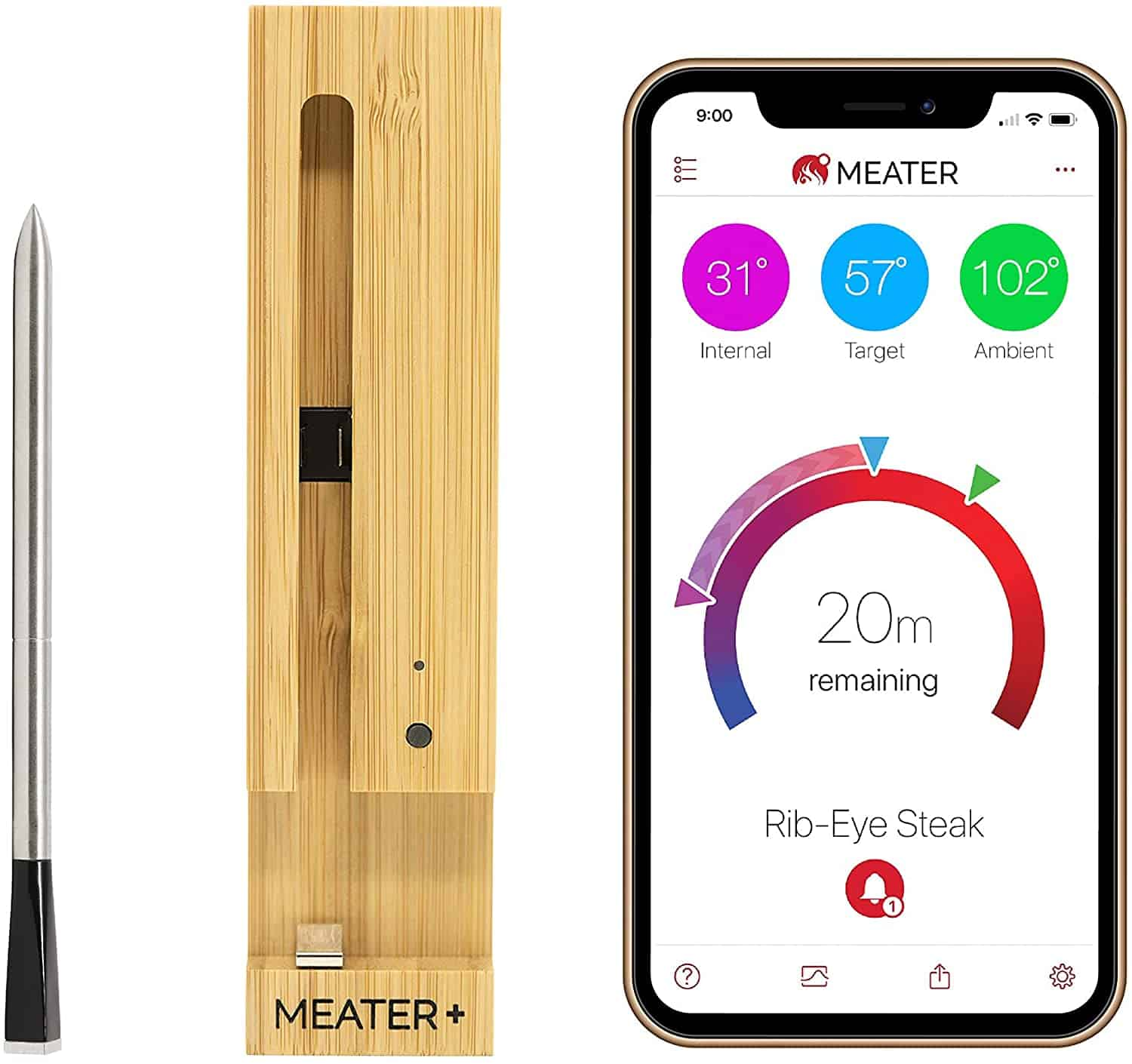 Best innovative Bluetooth BBQ thermometer- The Meater+