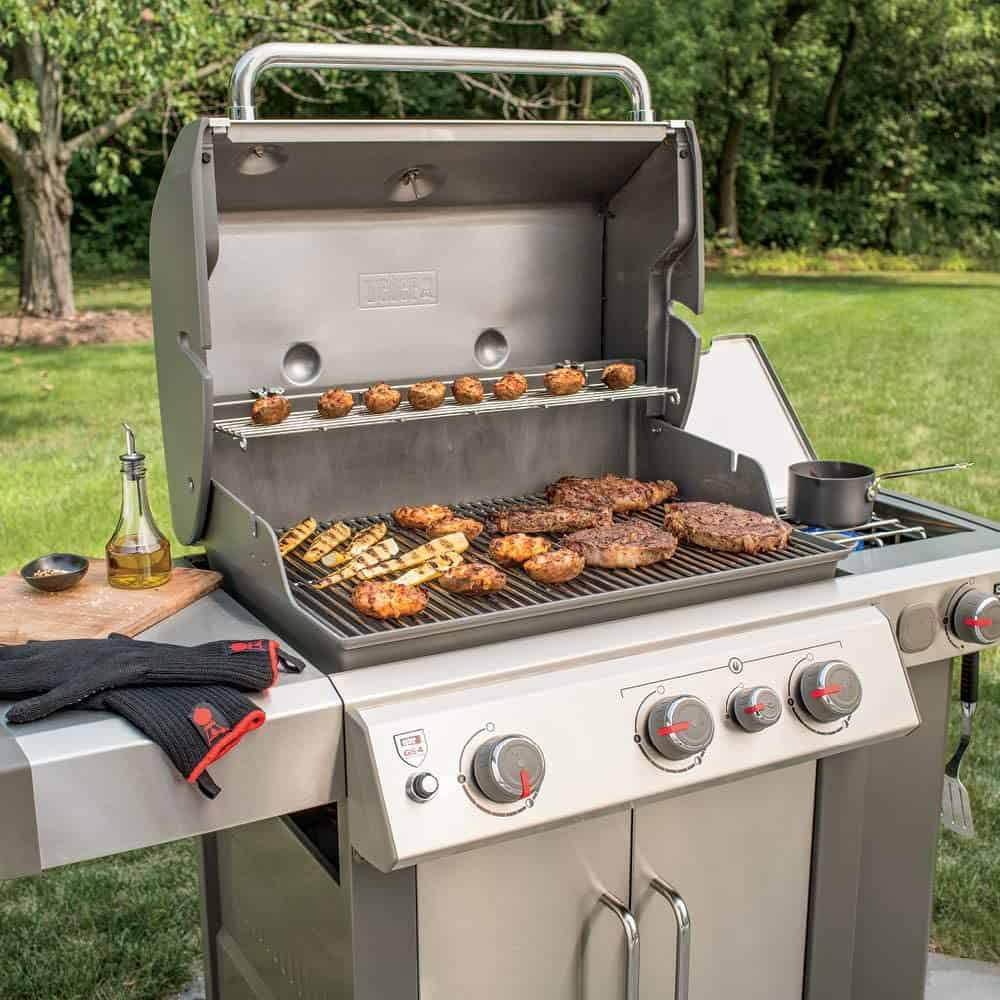 Best mid-range natural gas grill- Weber Genesis II E-335 NG with mea
