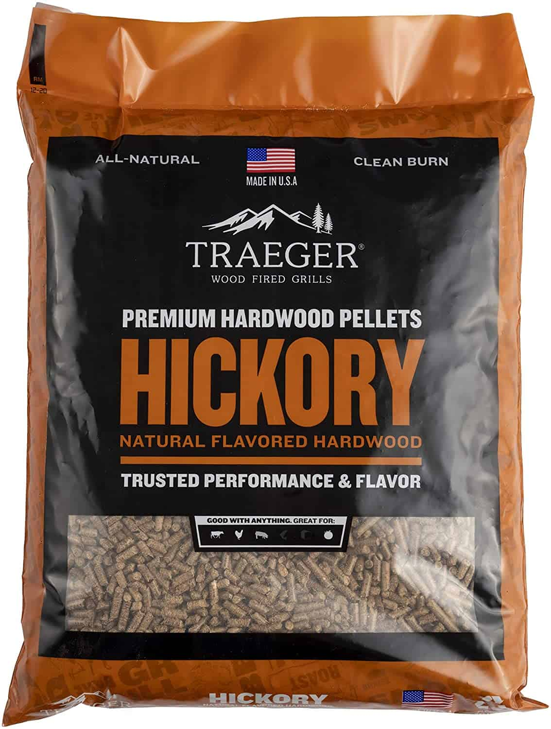 Best wood pellets for making your own mix-Traeger 100% All -Natural Hardwood