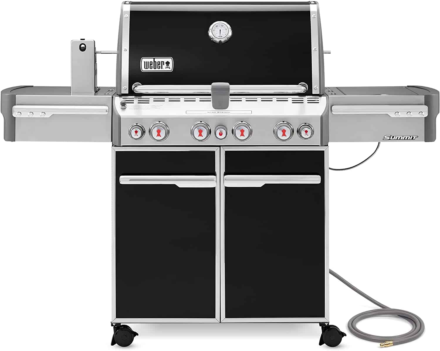 Most versatile natural gas grill- Weber Summit S-470 NG