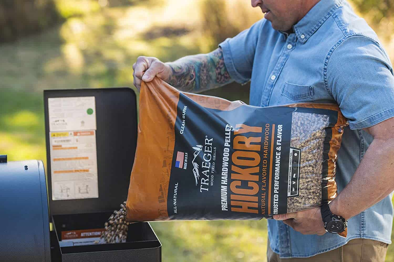 Should you use the same wood pellets brand as your grill?