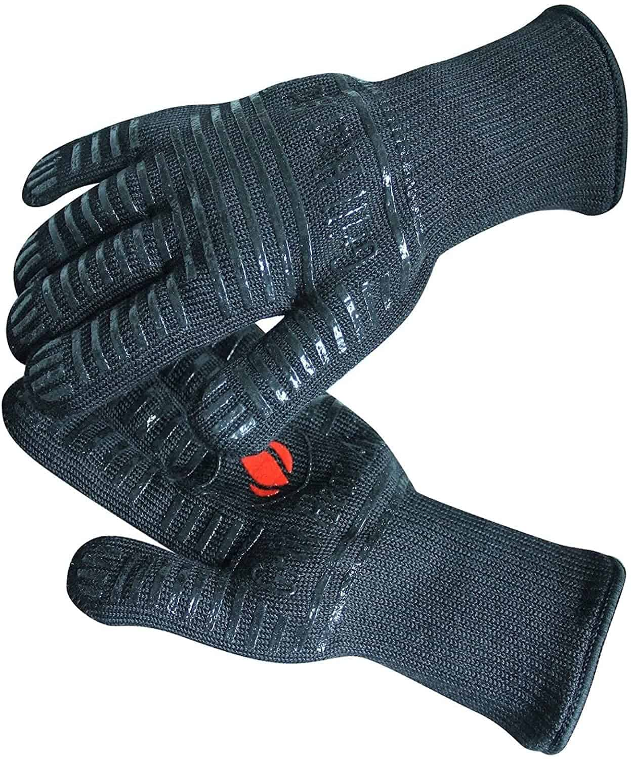 Best BBQ gloves overall- GRILL HEAT AID Extreme Heat Resistant