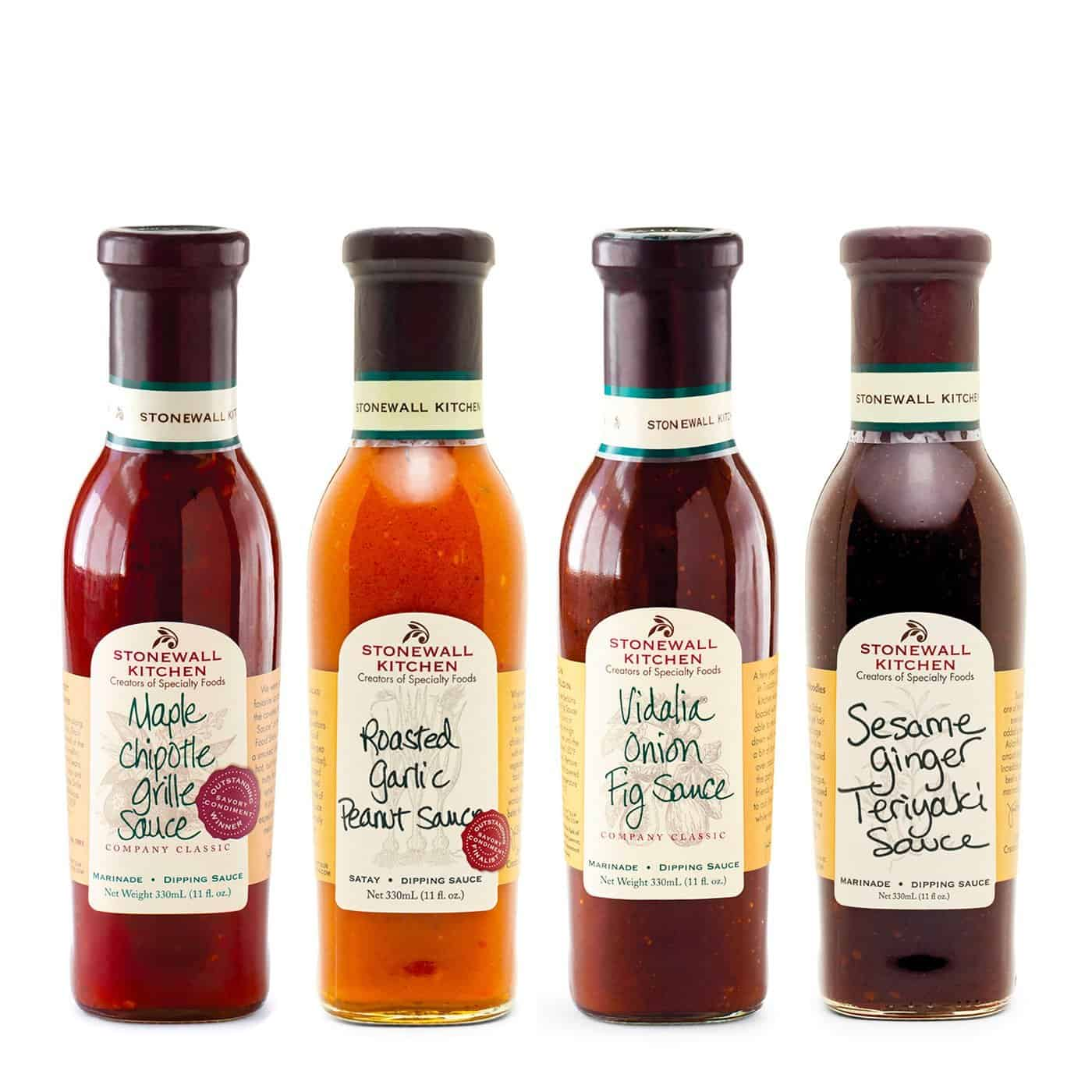 Best BBQ sauce collection- Stonewall Kitchen 4 Piece Classic Grille