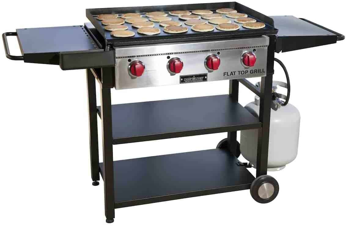 Best flat top griddle & grate combo- Camp Chef Flat Top Grill 600