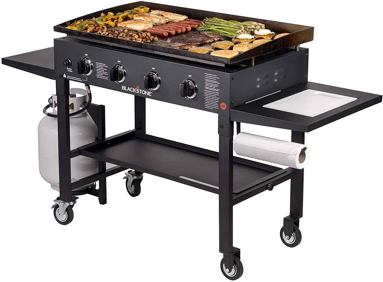Best flat top grill for largescale cooking- Blackstone 36 inch Outdoor